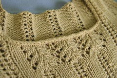 closeup of single crochet