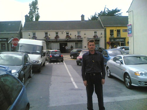 Dunshaughlin double parking