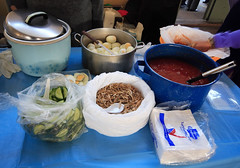 Nasi Lemak Ingrediants