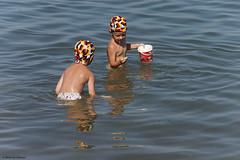 Badespaß im Bernsteinsee