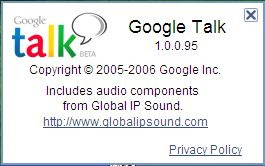 Google Talk (About)