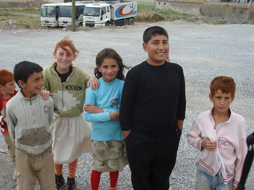 Redhaired kids in Turkey