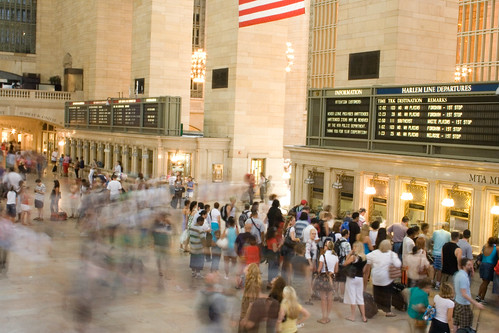 Grand Central Station Time-Lapse 2