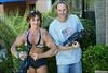 Annie Rivieccio poses down against James Cook