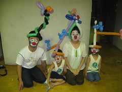 We're the clown family!