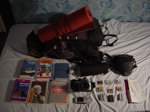 Mi maleta por Europa