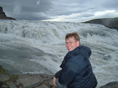 Me at Gulfoss