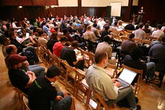 the crowd at WordCamp