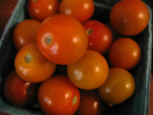 orange cherry tomatoes 2