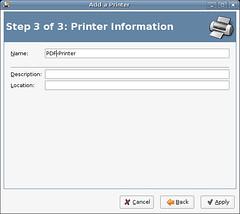 给打印机起名字