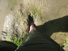 Glad I went barefoot...
