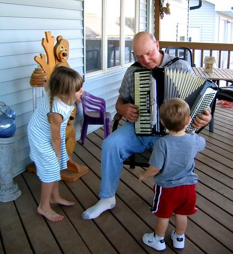 Grandpa F & His Accordion