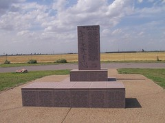 Great Western Cattle Trail Monument