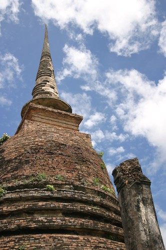 Budda and Temples  in Sukhothai 08