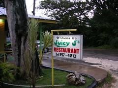 Juicy J's Natural Juices Jamaican Grill Negril Jamaica