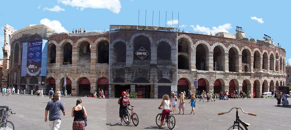 Arena (amfiteatre romà), Verona