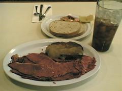 Billy's Deli - Corned Beef Plate