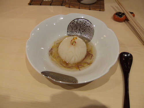 Urasawa (Los Angeles) - Turnip filled w/ Seafood Paste