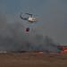 Castleshaw Moor and helicopter