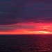 Sunset in the North Sea