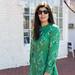 green floral dress, white espadrilles, round rattan bag -11.jpg