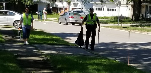 Volunteers on Concord Avenue