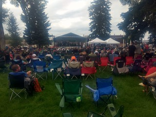 Oyster ridge music festival in Kemmerer