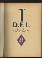 La 1ère DFL Epopée d'une reconquete - ouvrage collectif