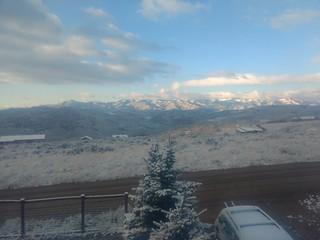 Some snow