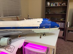 LEGO Air Force One WIP