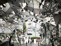 Tokyu Plaza mirrored ceiling Tokyo, Japan