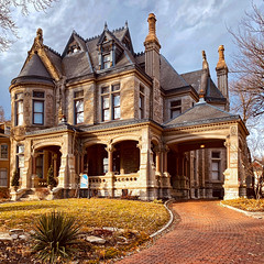 The Old House at 809 Hall Street - St. Joseph, Missouri - Built in 1885.