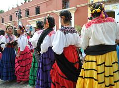 Dancers Oaxaca Mexico Women Mujeres