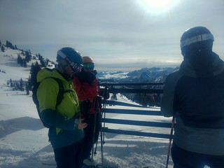 Ian, Amy and Dylan @ Alta