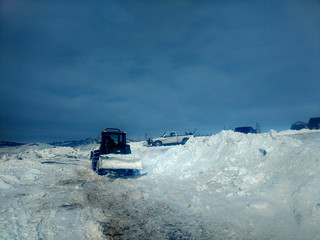Digging out Crestview