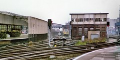 Manchester Victoria West, Deal Street and Irwell Bridge Sidings signal boxes - October 1981