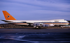 South African Boeing 747 ZS-SAN