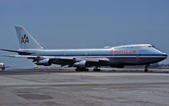 American Boeing 747 N9666