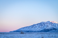 Panorama Mountain at dusk