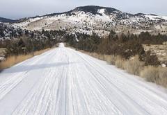 Crow Creek Road.  Montana