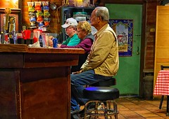 Country Bar, Saturday Night