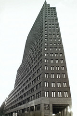Berlin Potsdamer Platz Hochhaus 25.2.2020