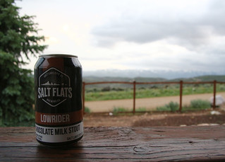 Lowrider Chocolate Milk Stout by @saltflatsbrewing