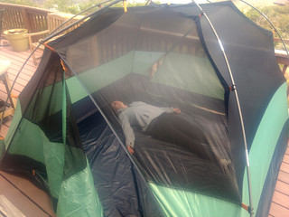 New tent. Needed every decade or so.