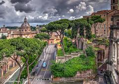 Roma. Above
