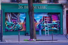 565 - Paris en Mai 2020 - avenue de la République