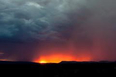 Stormy sunset, Coral Pink Sand Dunes, Utah
