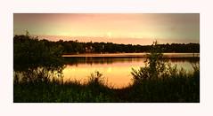 A quiet light on Lake Josephine