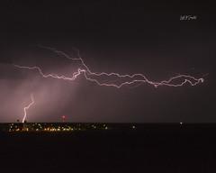 Lightning over Beaver (Seen in Explore 8.12.2020)