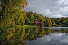 Autumn - From The Grotto, Stourhead.